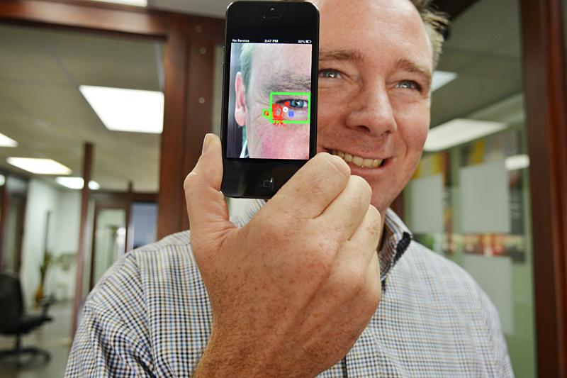 EyeVerify's eyeprint verification technology