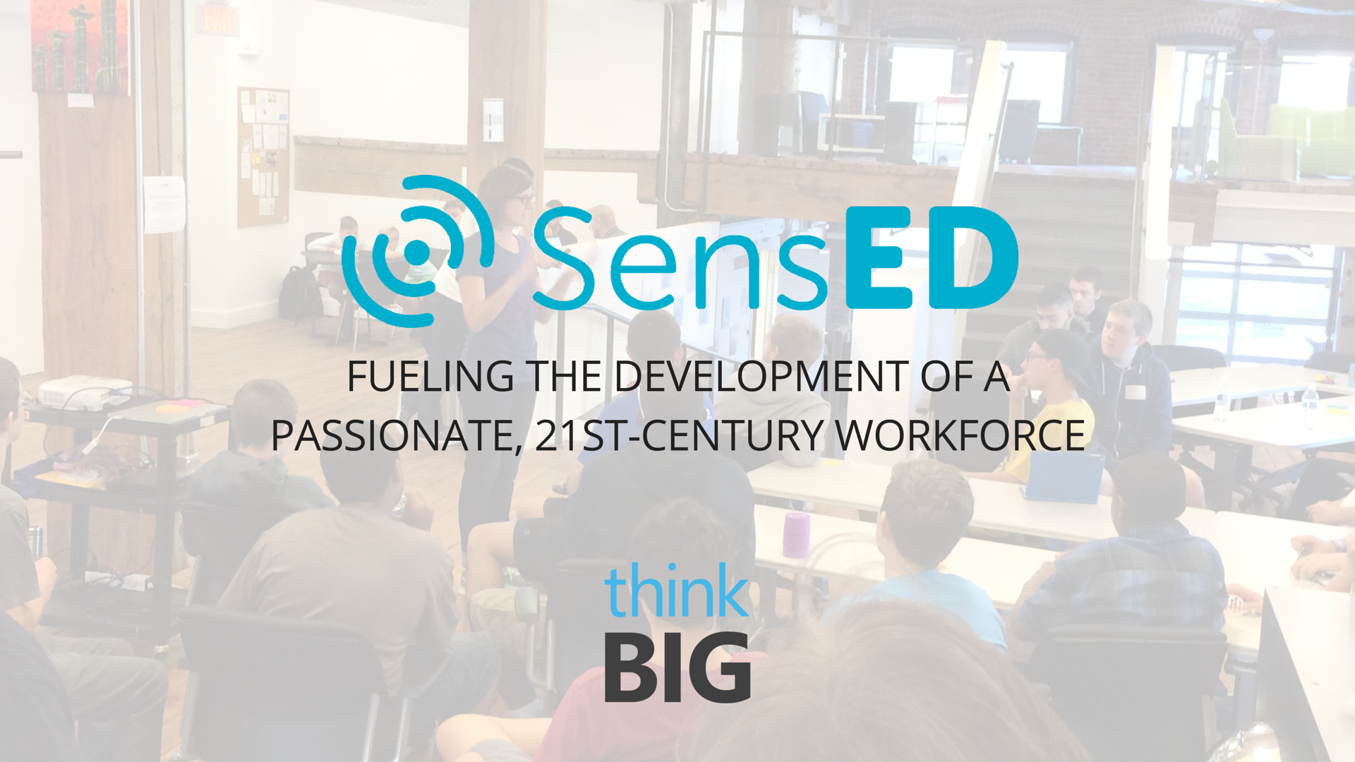 SensED IoT Student Innovation Challenge Demo Day at Think Big Partners